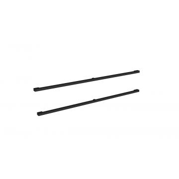 Sub 16 grepen set vierkant 2 stuks voor onderkast 100 cm, mat zwart
