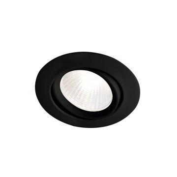 Sub 159 LED-inbouwspot 5W met transformator, zwart