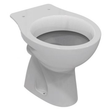 Sub 160 staand toilet diepspoel PK, wit