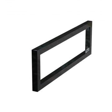 Sub Vito konsole voor wastafelblad mat zwart, mat zwart