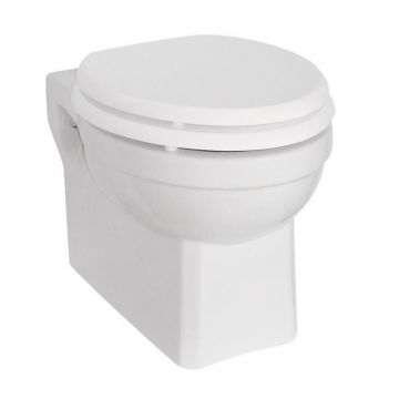 Van Heck Traditional toilet, wit