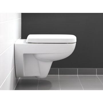 Geberit Renova plan wandcloset rimfree, wit