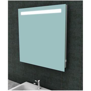 Wiesbaden Tigris spiegel met LED-verlichting 80x80 cm