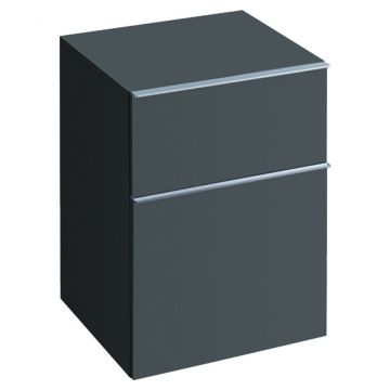 Geberit iCon halfhoge kast 2 laden 45x60 cm, lava
