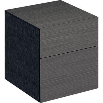 Geberit Xeno2 lage kast 45 cm 2 laden, scultura grijs