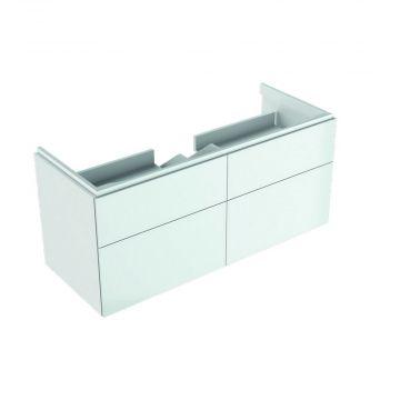 Geberit Xeno2 wastafelonderkast 4 laden 117,4x46,2 cm, glans wit