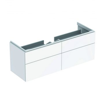Geberit Xeno2 wastafelonderkast 4 laden 137,4 cm, wit