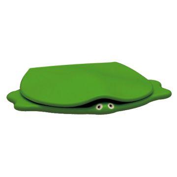 Geberit 300 Kids closetzitting schildpad softclose, groen