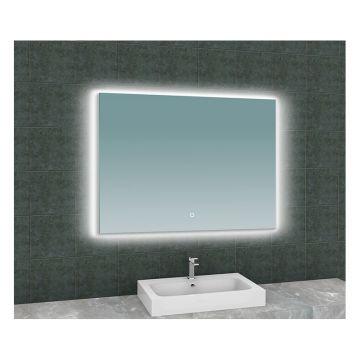 Sub Soul spiegel met LED verlichting 100 x 80 cm