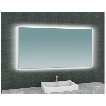 Sub Soul spiegel met LED verlichting 140 x 80 cm