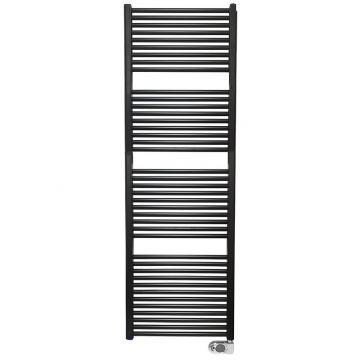 Wiesbaden Elara elektrische radiator 181,7x60 cm, 1000 W, mat zwart