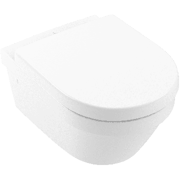 Villeroy & Boch Architectura wandcloset pack diepspoel Directflush met softclose en quickrelease zitting, wit