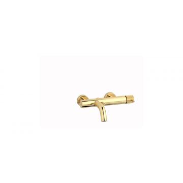Plieger Roma badmengkraan met omstelling en koppelingen, goud