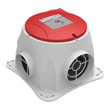 Zehnder ComfoFan mechanische afzuiging silent perilex ComfoFan S RP 350m3/h renovatie