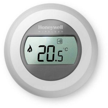 Honeywell Round kamerthermostaat draadloos t.b.v. uitbreiding/vervanging 24V