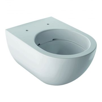 Geberit Acanto hangend toilet rimfree KeraTect, wit