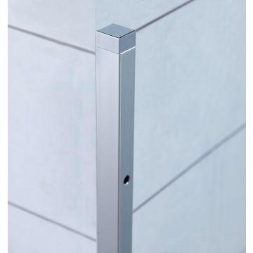 Sub 65 verbredingsprofiel voor zijwand 20x1933 mm. chroom, chroom