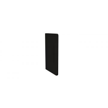 Plieger Nola keramisch urinoirschot 73 x 47,5 cm, mat zwart
