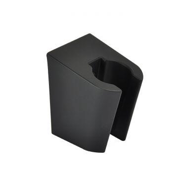 Wiesbaden Caral ABS handdouchehouder, mat zwart
