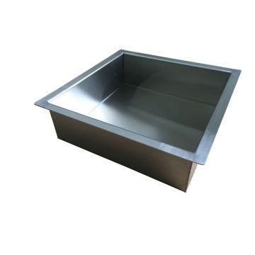 Sub Sunk inbouwnis 30x30x10 cm, RVS