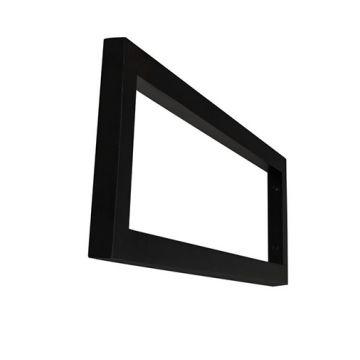 Wiesbaden Modul supportbeugel 40x14 cm vierkant, mat zwart