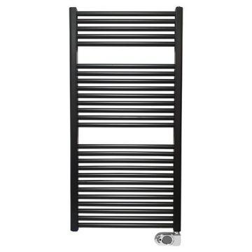 Wiesbaden Elara elektrische radiator 118,5x60 cm, 700 W, mat zwart