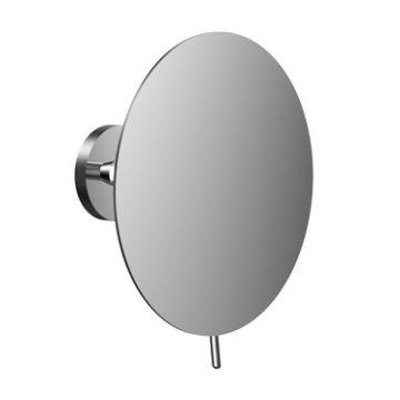 Emco Round cosmeticaspiegel 3x vergrotend 22,5 x 10,3 cm, chroom