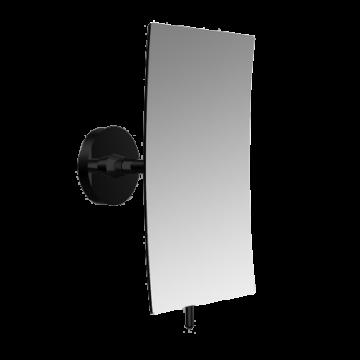 Emco Glue System cosmeticaspiegel 3x vergrotend 22,9 x 13,2 x 10,4 cm, zwart