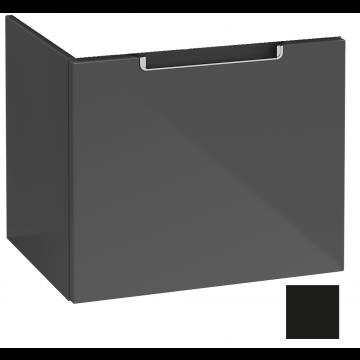 Villeroy & Boch Subway 2.0 wastafelonderkast 48,5 x 42,0 x 37,9 cm, matt black