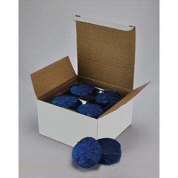 Wiesbaden set à 12 stuks toiletblokjes blauw voor Geberit-toiletblokhouder