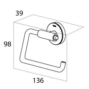 Tiger Urban toiletrolhouder 9,8 x 13,6 x 3,9 cm, wit