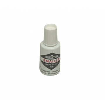Plieger emaille-tip 20 ml, wit