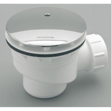 Sealskin douchebak sifon 50/52 mm, wit/chroom