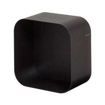 Sealskin Brix wandkubus opbouw vierkant, zwart