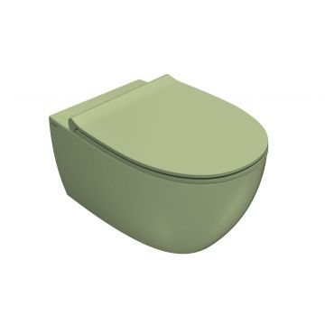 Globo 4All hangend toilet 33 x 36 x 54 cm, lime