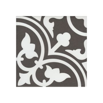 Douglas & Jones Vintage decor-strip 20x20x0,8 cm, flavie noir