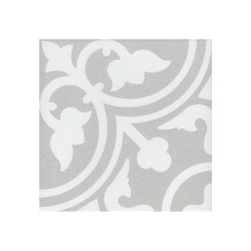 Douglas & Jones Vintage decor-strip 20x20x0,8 cm, flavie gris