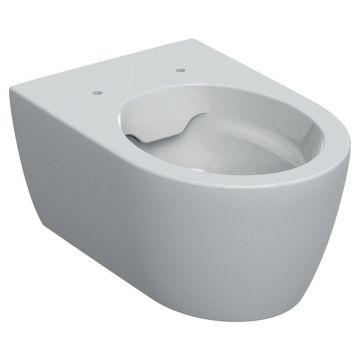 Geberit iCon wandcloset 53 cm, rimfree diepspoel EFF3, zonder zitting, wit