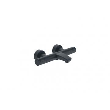 Ideal Standard Venlo thermostatische badmengkraan, zwart