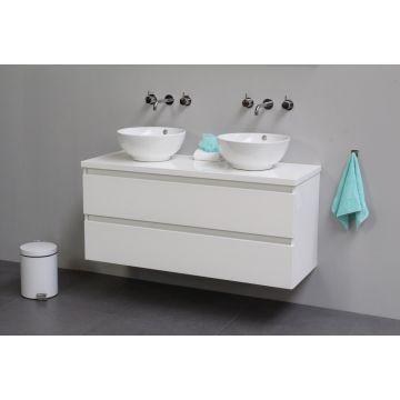 Sub Top badmeubelset 13 - inclusief opbouw waskom 60 cm, afdekplaat en wastafelonderkast