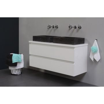 Sub Top badmeubelset 16 - inclusief opbouw waskom 120 cm, afdekplaat en wastafelonderkast
