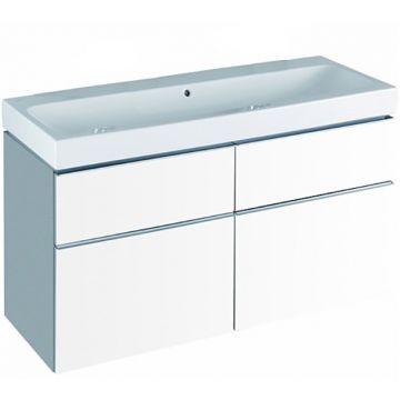 Geberit iCon badkamermeubelset 33 - enkele wastafel en wastafelonderkast 120 cm