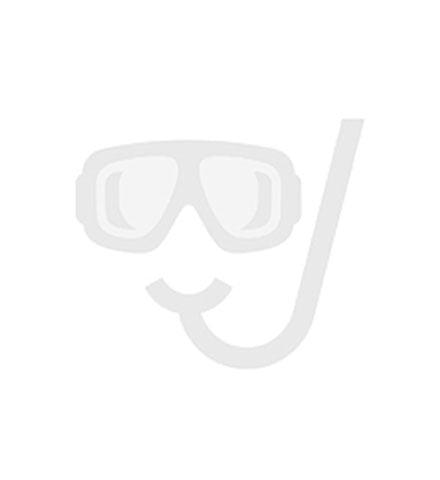 Riverdale onderkast greeploos hout decor enkele lade softclose met recht front 100x35x45 cm, zilver eiken  RIVB1DZE100